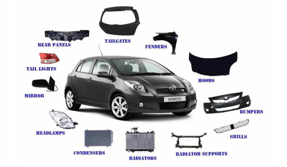 Car Spare Parts Name And Picture Pdf