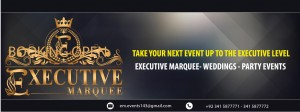 Executive Marquee - Islamabad