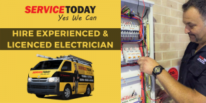 Service Today - electrical services provider - Sydney