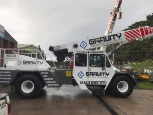 Mobile Crane Hire Melbourne - Gravity Rigging