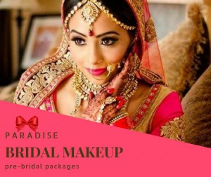 Paradise Bridal Makeup in Chandigarh