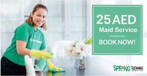 Spring Cleaning Services:- House maid Service in Dubai