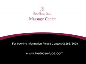 Red Rose Spa & Massage Center in Dubai