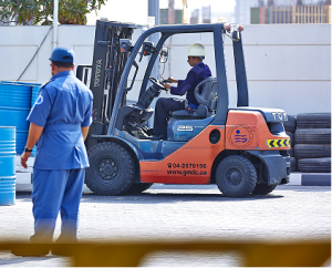 Driving Classes In Dubai For Forklift Driving License | GMDC
