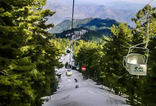 Ayubia Chair Lift - Ayubia National Park - Ayubia KPK