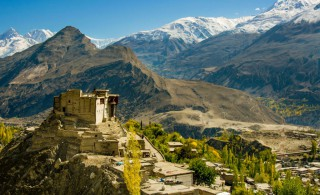 Baltit Fort - Balti Fort, Hunza valley , Gilgit-Baltistan, Pakistan.