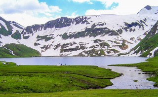 Dudipatsar Lake - Dudipat Lake , Kaghan Valley, KPK, Pakistan