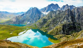 Gadsar Lake - Kashmir valley