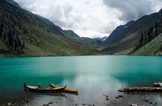 Kandol Lake or Kandol Jheel - Utrar Vally - kalam, KPK, Pakistan