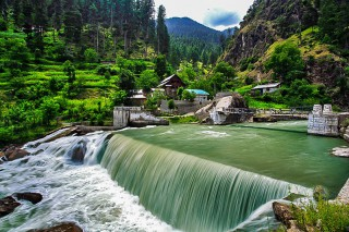 Kutton waterfall - Neelum Valley - Azad Kashmir, Pakistan