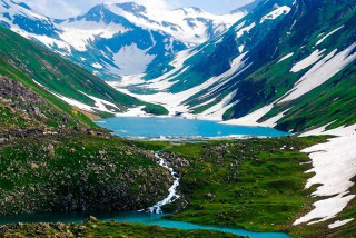 Saral Lake - Neelam Valley, Azad Kashmir, Pakistan