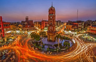 Ghanta Ghar,  Clock Tower - Faisalabad, Pakistan